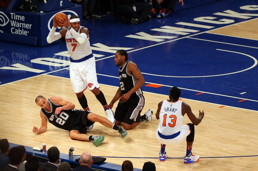 Spurs Vs Knicks Detail: New York Knicks Vs. San Antonio Spurs: Keys To The Game