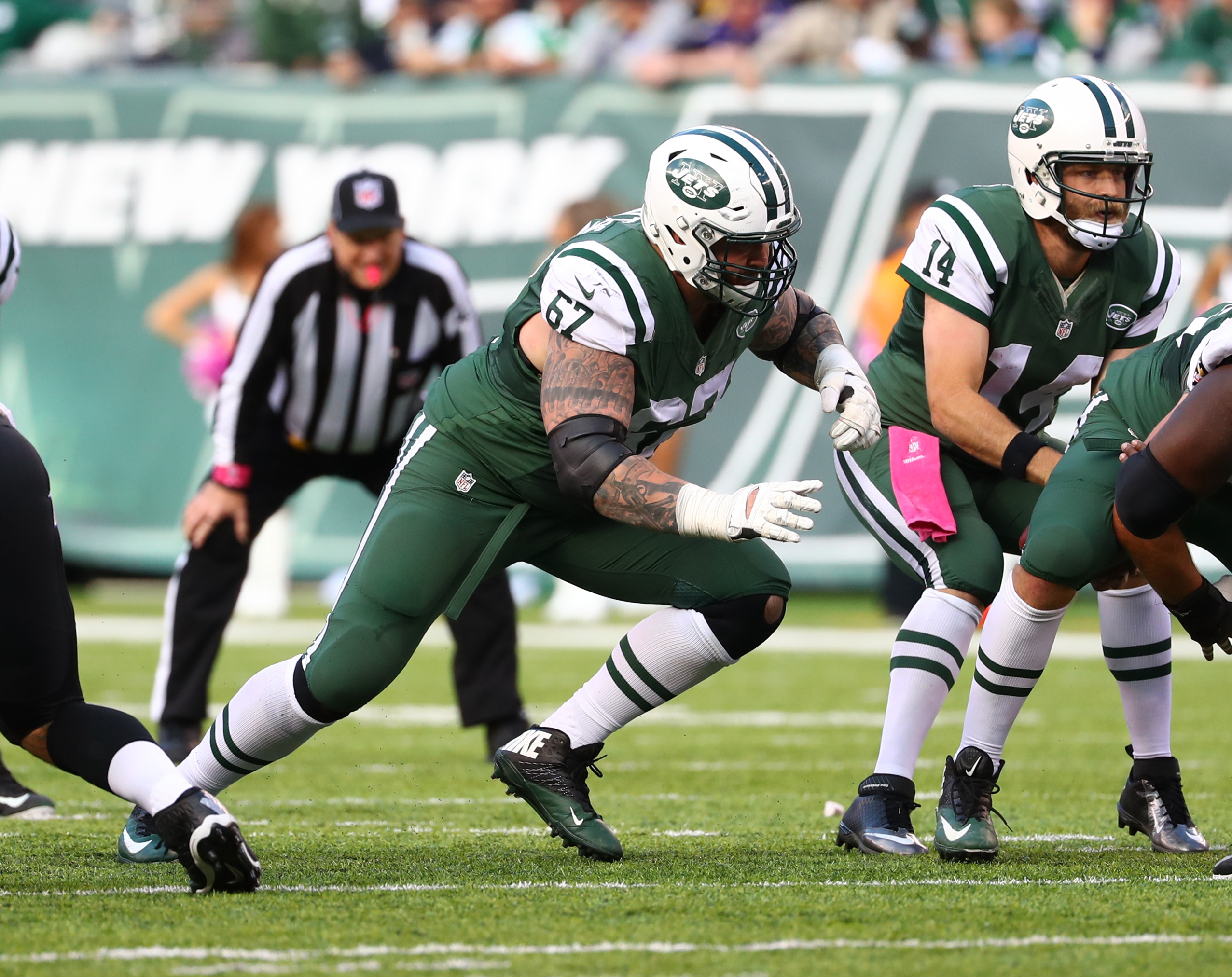 New York Jets 2017 Roster Preview fensive Linemen