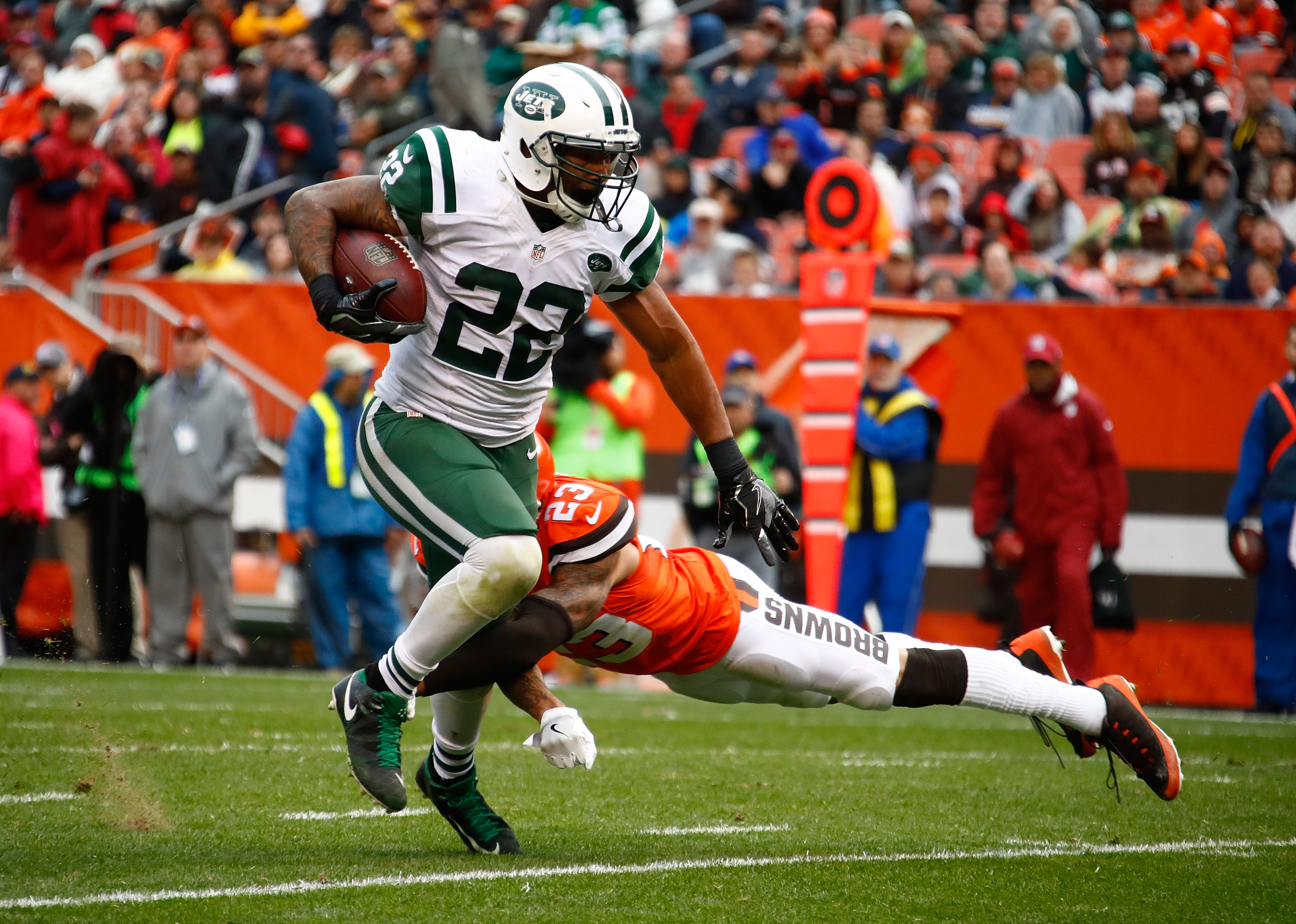 Jets looking to trade running back Matt Forte