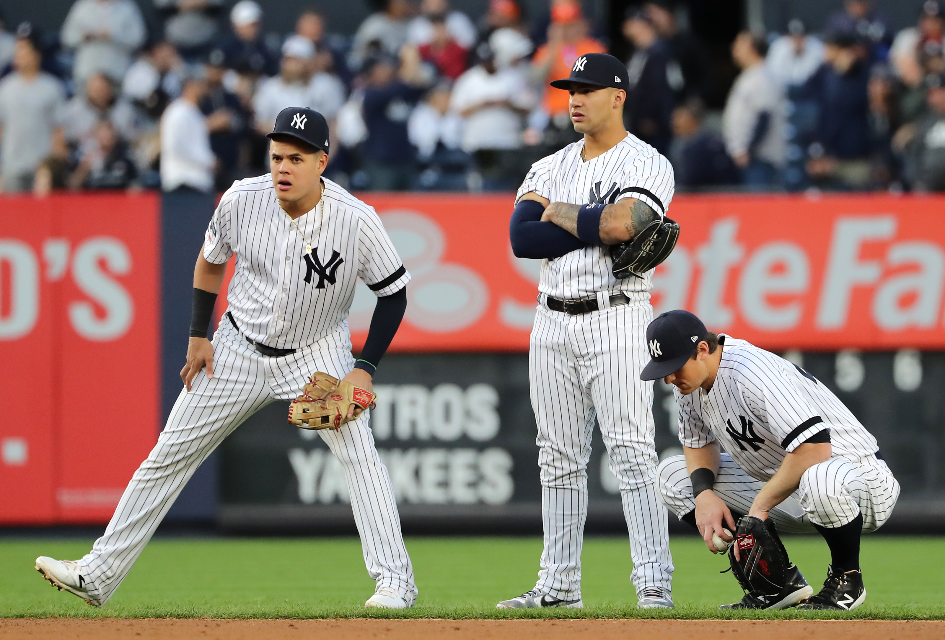 New York Yankees: 2020 Infield Preview - Empire Writes Back