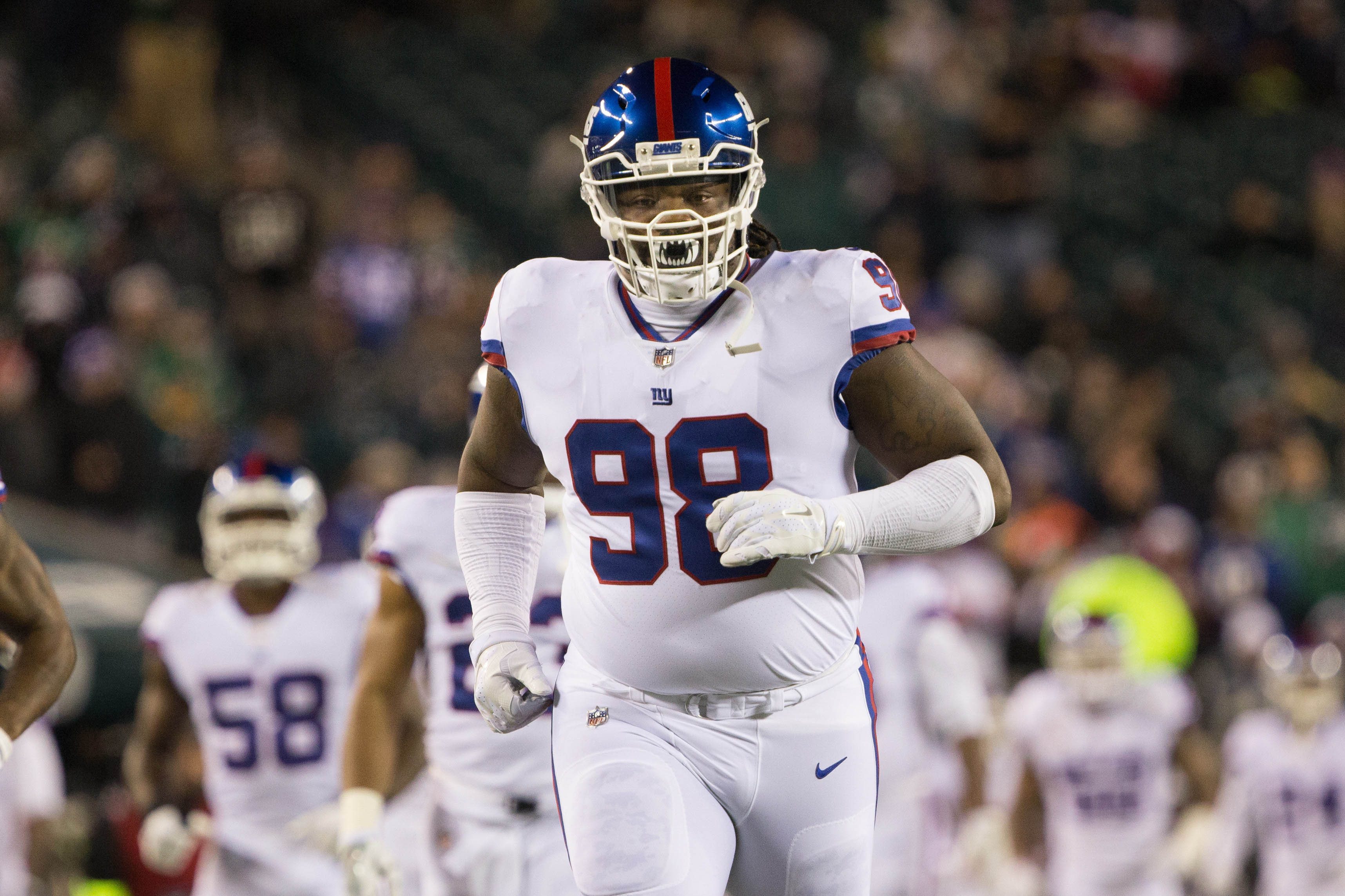 New York Giants Damon Harrison ranked too low on top players of 2017
