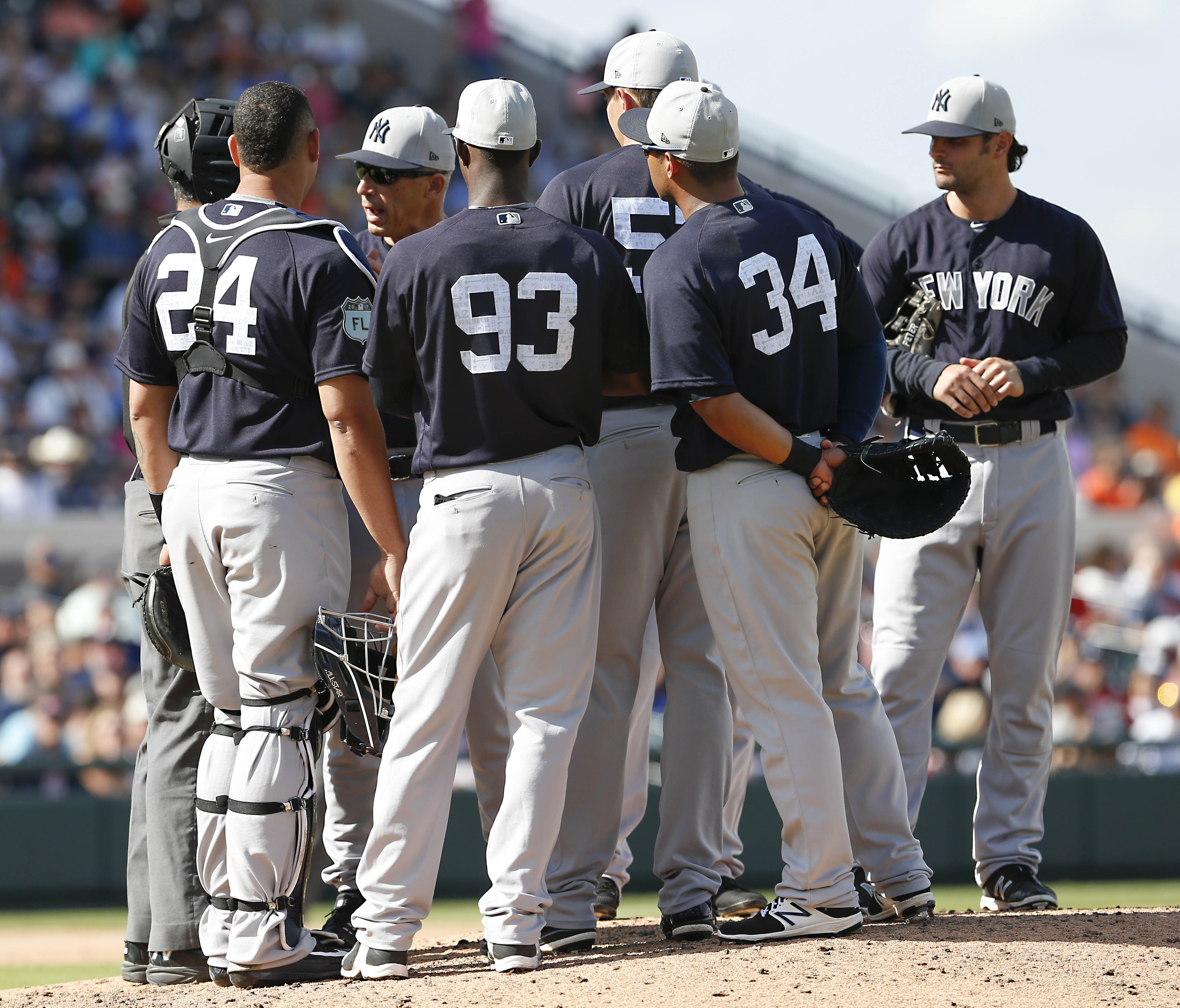New York Yankees  Top 5 Players Thus Far In Spring Training d37d0e67160